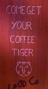 coffee tiger