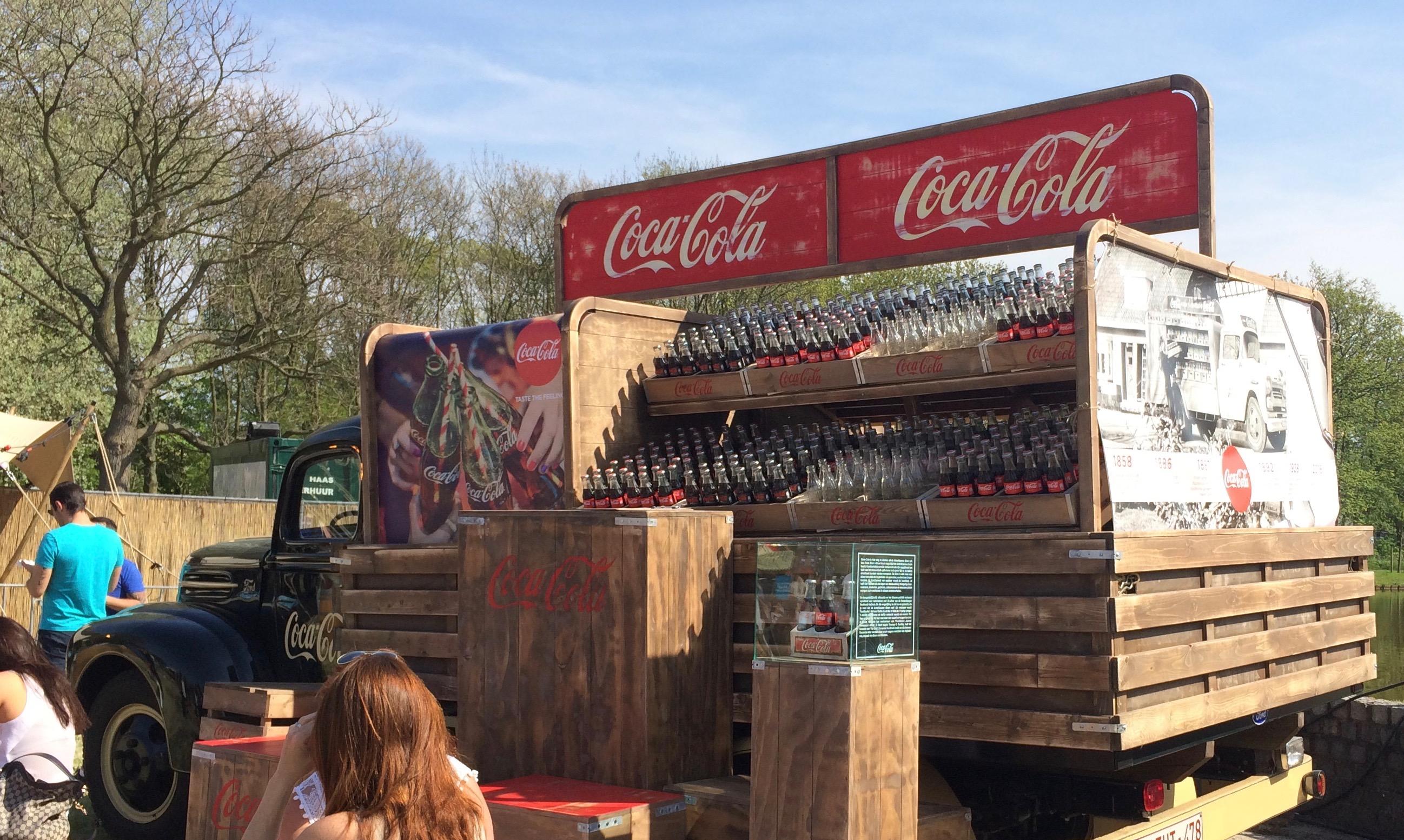 De Coca-colawagen op TREK