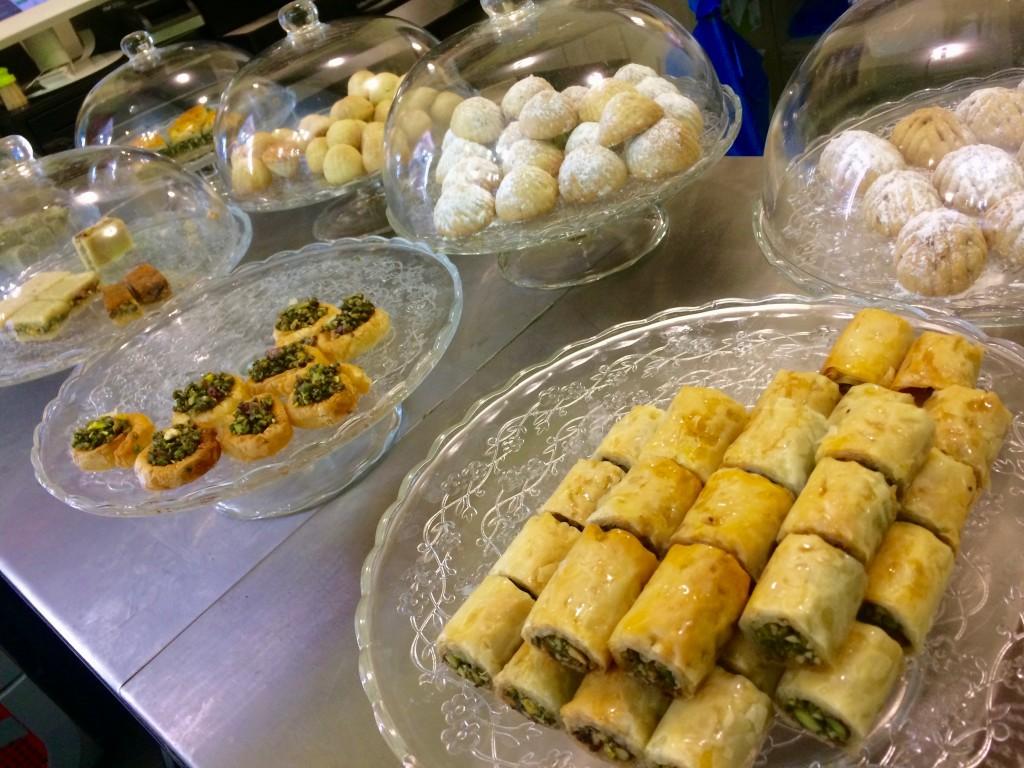 arabian sweets Pistache Halab