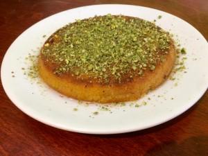 Kunafe bij Pistache Halab