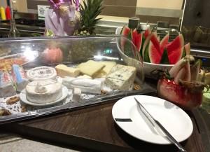 Niemand eet hier kaas.