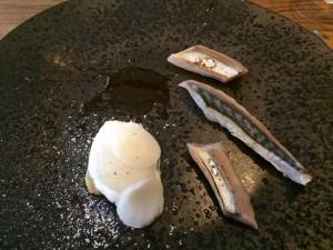 Makreel met mierikswortelijs