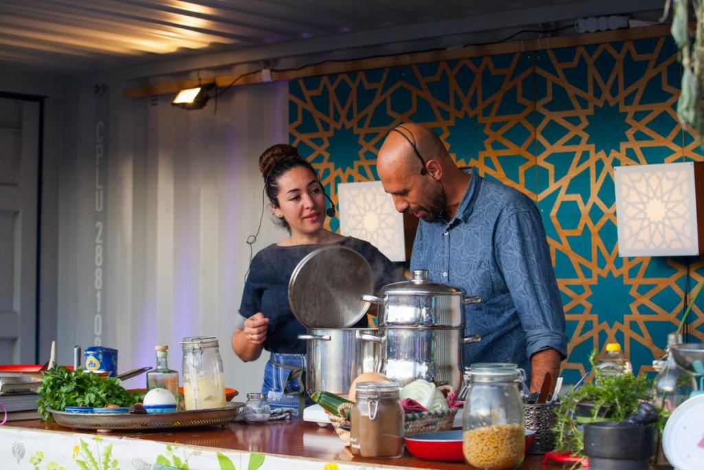 Saida en Abdelkader Benali. Foto: Fleur Beerthuis