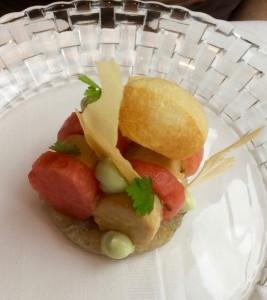 cafe rotterdam lever watermeloen makreel